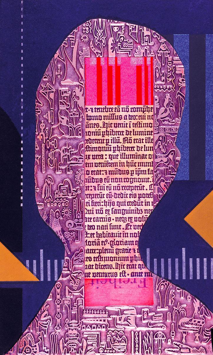 Collage Kunstkopf Klaus Raasch
