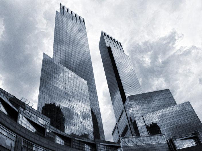 Fassaden von Manhattan